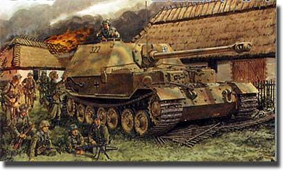 Rezervor Destroyer - Ferdinand