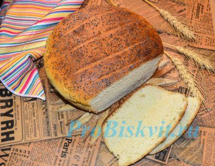 Cum se coace pâine delicioase în cuptor la domiciliu