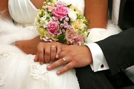 Care mână poartă un inel de nunta