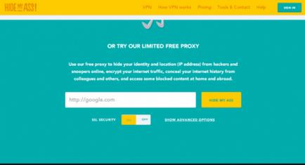10 proxy gratuit pentru sigur și anonim surfing, securitate