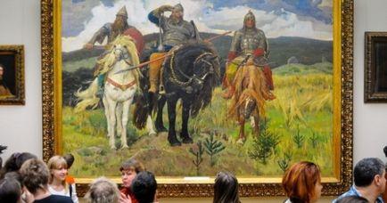 10 capodopere pe care trebuie să le vedeți în Galeria Tretyakov