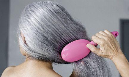 Cum să scapi de părul gri - la domiciliu
