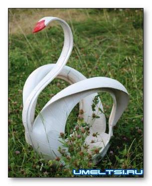 Swan de pas cu pas instrucțiunile anvelopei, diagrama, fotografie