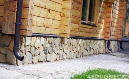 Cum de a decora asieta soclu cu soclu din piatră naturală
