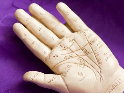 Ghicitul pe brațul - palmistry