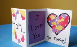 Cum sa faci o felicitare ziua de nastere mama lui cu propriile lor mâini