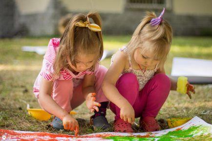 Vopsele pentru copii cu propriile lor mâini, să crească inteligent!