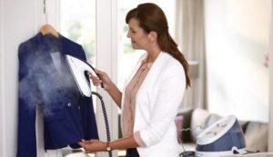 Fier de călcat îmbrăcăminte verticală aburitor modul de a alege