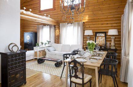 interior Cottage, decor rustic economie