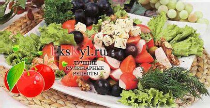 reteta salata grecească este un clasic și pui, ekskyl