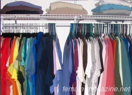 Cum pentru a curăța sfatul garderoba de la gospodine cu experiență