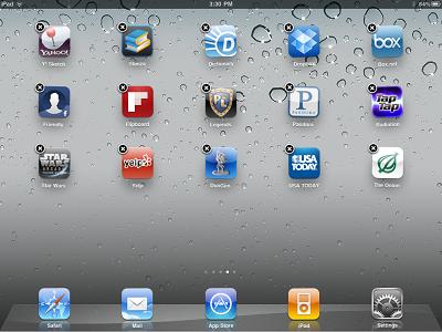 Cum să eliminați aplicația din aypada, articole utile iPad