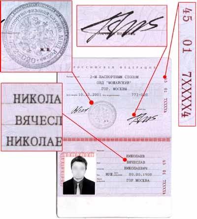 De unde știi numărul și seria pașaportului