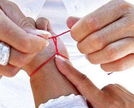Subiect Roșu cum a lega în mod corespunzător o rugăciune pentru a crea un talisman