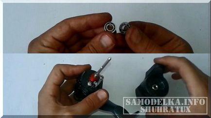 Duza - Bor șurubelniță mașină cu mâinile lor