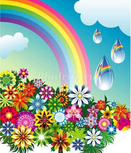 Rainbow cu propriile sale mâini pentru grădiniță