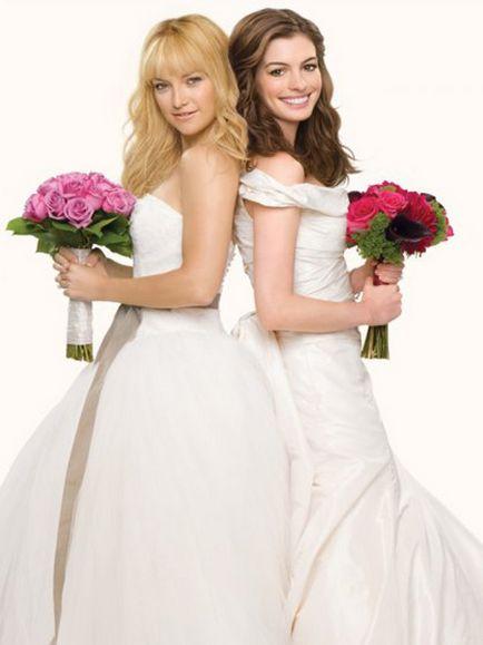 """Rochia de mireasa din filmul """"Bride Wars"""""""