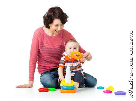 Clasele cu o mama copil 1 an, activ