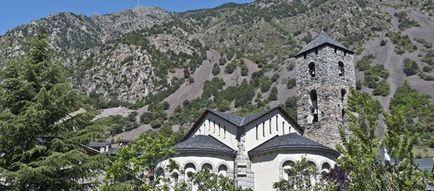 Andorra - Harta de ansamblu, fotografii, moneda, limba, geografie, comentarii