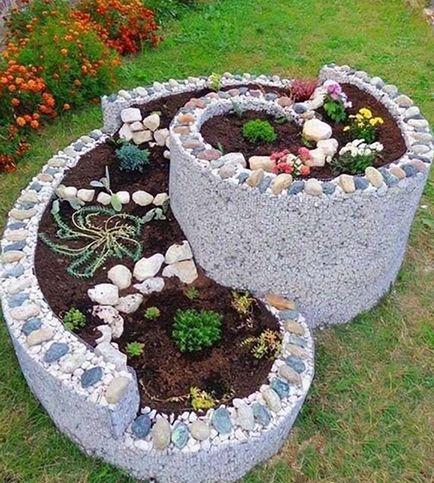 pat de flori decorative
