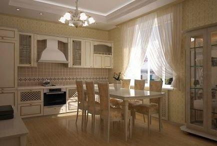 bucatarie de design sufragerie camera de zi-(56 poze) de interior apartamente studio în stil clasic