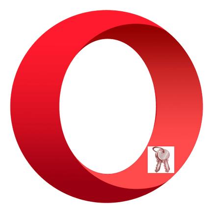 Care stochează parolele în Opera