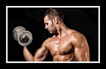 Cum se descarcă biceps la om acasă