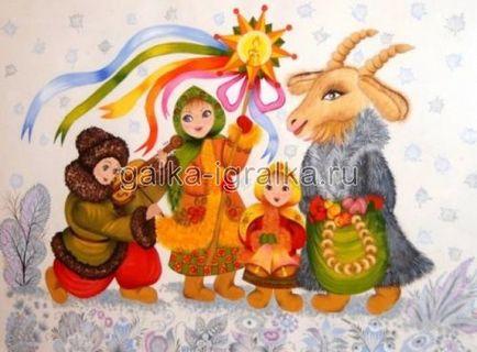 Colinde, colinde! ... colinde vesele revarsă și cântece de Crăciun pentru copii
